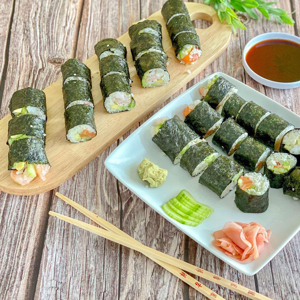 Body by Pauline Meal Diet Plan Sushi Rolls