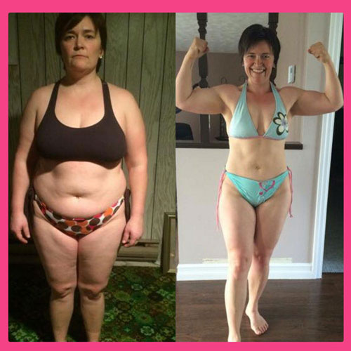 Women's Results after Body By Pauline Diet