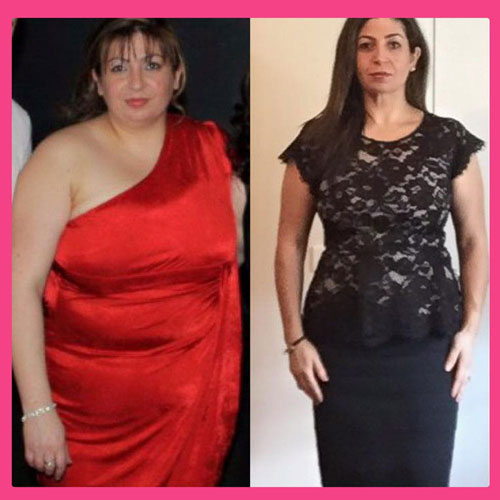 Women's Results after Body By Pauline Diet & Fitness Plan